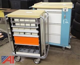 (2) Medical Carts