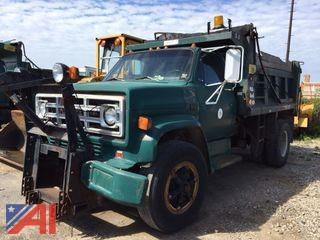 1988 GMC C7D042 Dump Truck