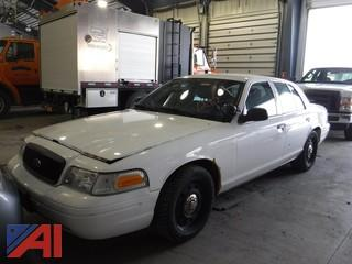 2009 Ford Crown Victoria 4DSD/Police Interceptor