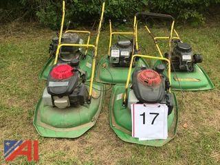 (5) Hover Mowers