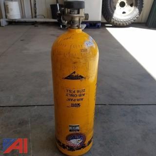 (15) Scott 2216 PSI Air Pack Bottles