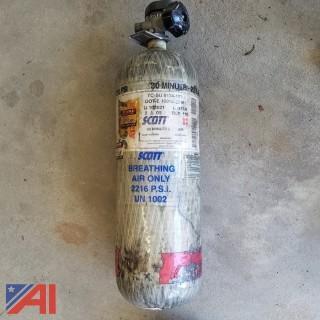 (20) Carbon Scott 2216 PSI Air Pack Bottles