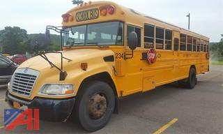 2008 Blue Bird Vision School Bus