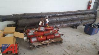 (5) Rolls of Contractor Paper