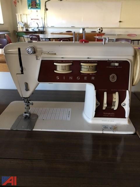 Auctions International Auction Dundee CSD 40 ITEM 40 Singer Adorable Singer Sewing Machines Malta