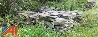(7) Pallets of Blue Stone Slate