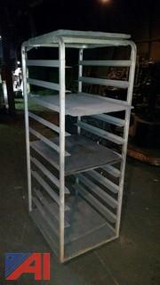 Steel Rolling Shelf Rack