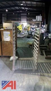 Rolling Shelf Rack