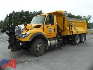 2010 International 7600 Maxx Force 13 Dump Truck