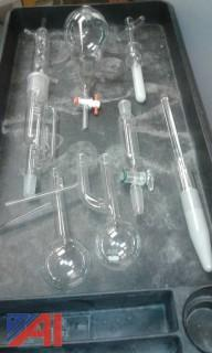 Assortment of Chemical Lab Flasks
