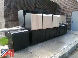 Base Cabinets with Counter