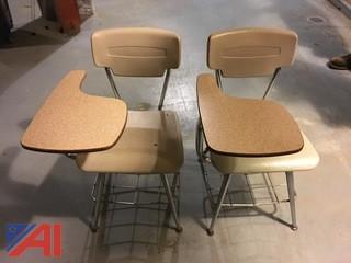 (63) American Seating Beta II Classmate Student Desks