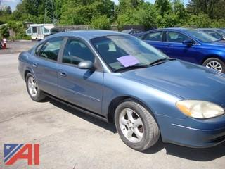 2001 Ford Taurus 4 Door