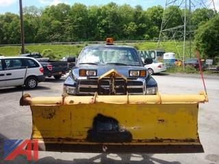 2001 Dodge Ram 2500 Pickup with Plow
