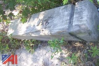 "(9) 12""x12"" Pressure Treated Wood Posts"