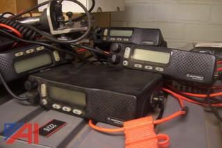 (5) Motorola Radius M1225 Mobile Radios