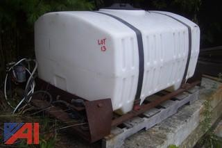 Holder Tractor Poly Water Tank