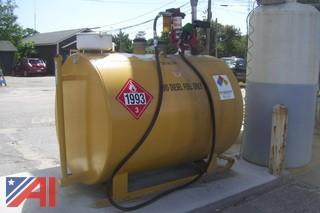 500 Gallon Double Wall Above Ground Bio Diesel Tank