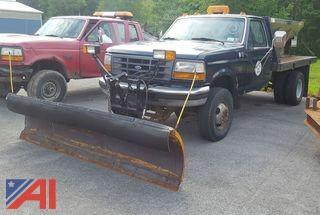 1997 Ford F350 Pickup/Flatbed Truck