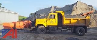 1999 International 2574 Dump w/ Plow & Wing