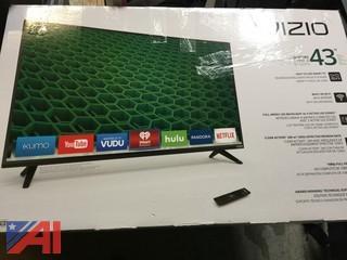 VIZIO D43-D2 43-Inch 1080p D-Series Class Full‑Array LED Smart TV