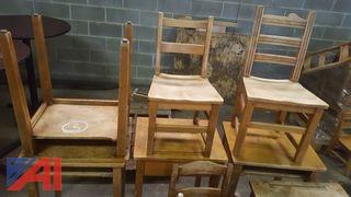 Stickley Student Desks and Chairs