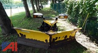 """2003 Fisher 9' """"V"""" Plow, Minute Mount"""