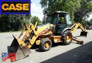 2005 Case 580-M Series 2 Loader Backhoe