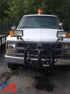 1998 Chevy C/K 2500 Pickup w/ Plow