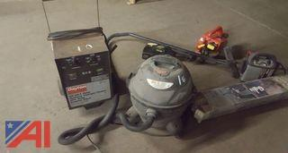 Dayton Charger, Shop Vac and More