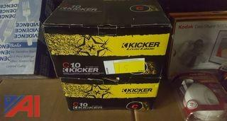 (2) CID Kicker Speakers