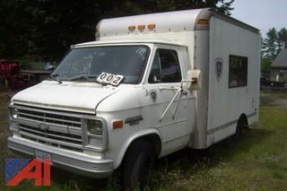 1990 Chevy G30 Cube Van