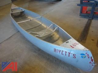 Grunman Aluminum Canoe