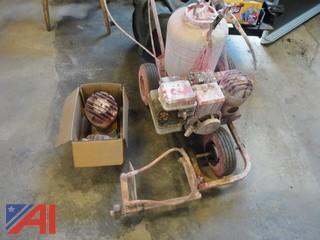 Toro Lawn Mower and Gas Powered Paint Sprayer