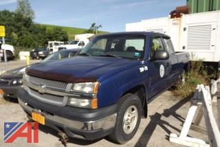 2003 Chevrolet Silverado 1500 Pickup with Plow