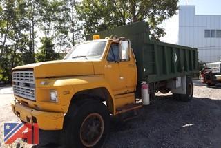 1985 Ford F8000 Dump