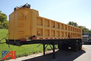 1985 Summit Gravel trailer