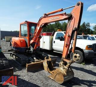 2003 Kubota KX121-3 Mini Excavator w/Accessories