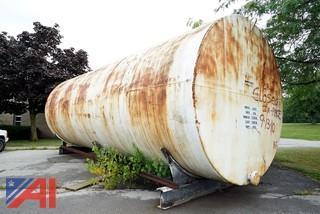 15,000 Gallon Steel Horizontal Tank