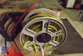 (2) Central Pneumatic Air Reels
