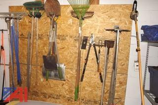Shovels, Rakes & Hand Garden Tools