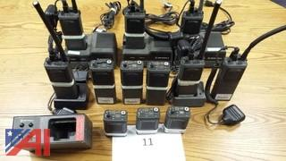 (12) Motorola MT1000 16Ch Low Band VHF Portables