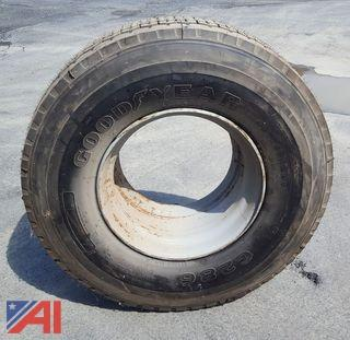New Goodyear Tire on a Bud Rim