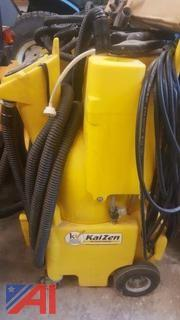 (2) Kaivac Cleaning Systems