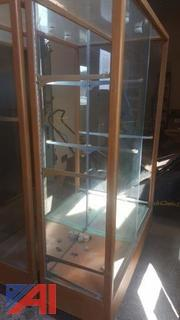 Trophy Cases, Cart, and Tables