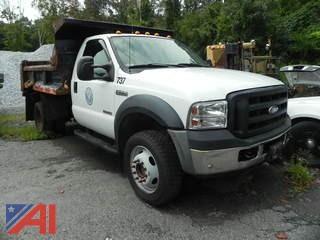 2007 Ford F550 Truck