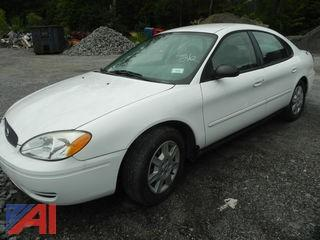 2006 Ford Taurus 4 Door Sedan