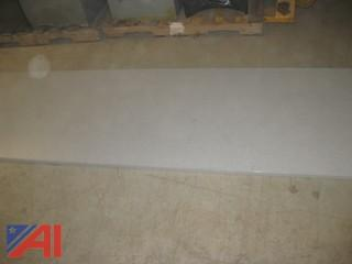 (2) Wood Laminate Counter Tops