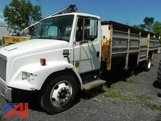 2002 Freightliner FL60 Recycling Truck