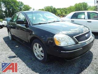 2006 Ford Five Hundred SE 4DSD